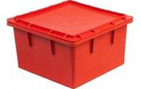 Пластиковый ящик 385х385х225