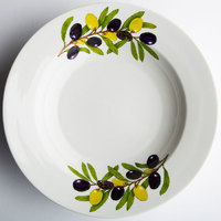 Тарелка 240 глубокая Оливки