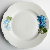 Тарелка 240 мелкая Голубая герань