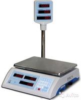 Электронные торговые весы ВСП-15.2 4ТКС