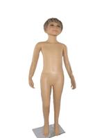 Детский манекен мальчик (пластик.парик)