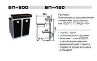 Прилавок БП-900, БП-450