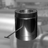 Шибер поворотный изоляция 50 мм