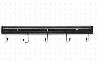 Магнитный держатель для ножей с крючками 450 мм
