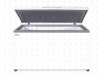 Ларь морозильный Снеж МЛК-500 глухая крышка