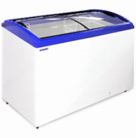 Морозильный ларь с гнутыми раздвижными стеклами CF500С