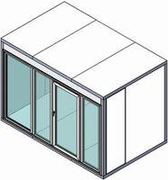 Холодильная камера Polair Professionale со стеклом