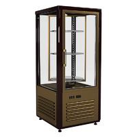 Вертикальная барная витрина Полюс R120Cвр Carboma