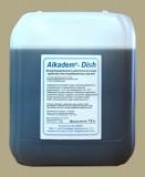Универсальное жидкое концентрированное щелочное моющее средство для посудомоечных машин.