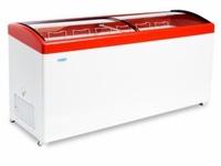 Ларь морозильный Снеж МЛГ-700 гнутое стекло
