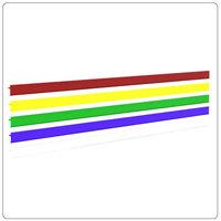 Ценникодержатели L=1000,1250 цветные