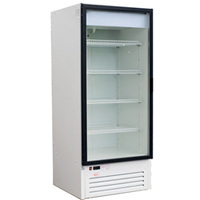 Холодильно-морозильный шкаф со стеклянной дверью SOLO SN G-0,75