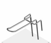 Крючок язычковый 75 мм