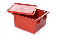 Пластиковая крышка для ящика 385х385х20