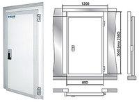 Дверной блок с распашной дверью