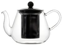 Чайник из боросиликатного стекла с нержавеющим фильтром 600 мл