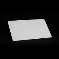 Блюдо прямоугольное  385х235 мм плоское с выемками