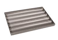 Противень для багетов из алюминиевого сплава 600х400 мм