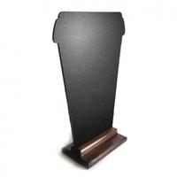 Меловая доска «Кофе с собой» 420х300 мм на деревянной подставке